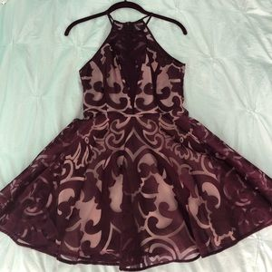 Urban Outfitters Damask Printed Dress
